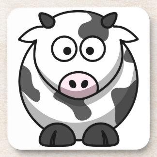 cartoon Moo Cow Coaster