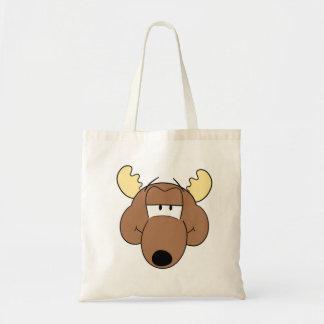 Cartoon Moose Bag