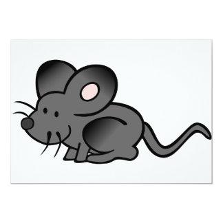 Cartoon Mouse Invitations
