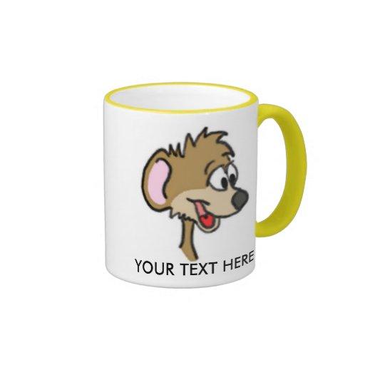 Cartoon Mouse Mug