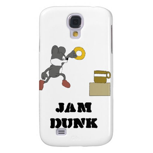 Cartoon Mouse With Coffee And Doughnut Samsung Galaxy S4 Cover