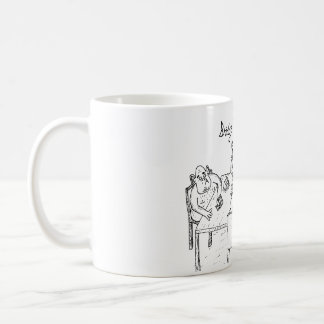 Cartoon mug - bridge trolls