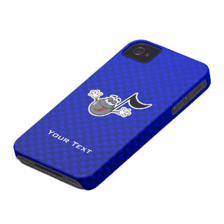 Cartoon Music Note iPhone 4 Cover