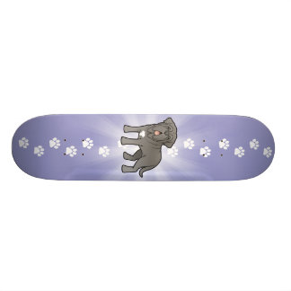 Cartoon Neapolitan Mastiff 20.6 Cm Skateboard Deck