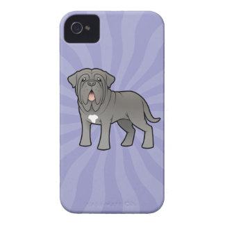 Cartoon Neapolitan Mastiff Case-Mate iPhone 4 Cases