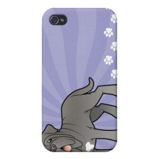 Cartoon Neapolitan Mastiff iPhone 4/4S Covers