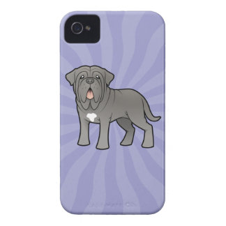 Cartoon Neapolitan Mastiff iPhone 4 Case-Mate Cases