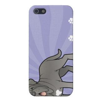 Cartoon Neapolitan Mastiff iPhone 5/5S Cover