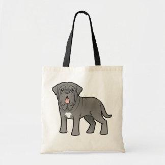 Cartoon Neapolitan Mastiff Tote Bag