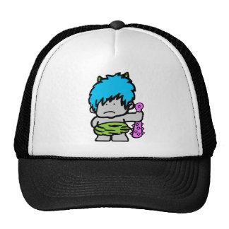 Cartoon Neon Caveman Hat