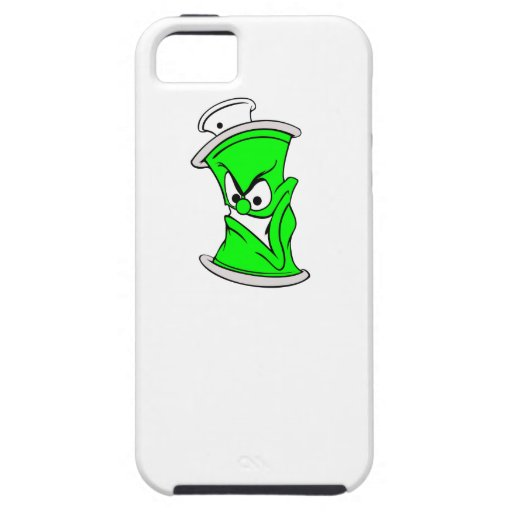 Cartoon Neon Spray Paint Can Cover For iPhone 5/5S