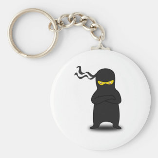 Cartoon Ninja Key Ring