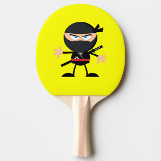 Cartoon Ninja Warrior Yellow