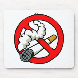 Cartoon No Smoking Sign Mouse Pad