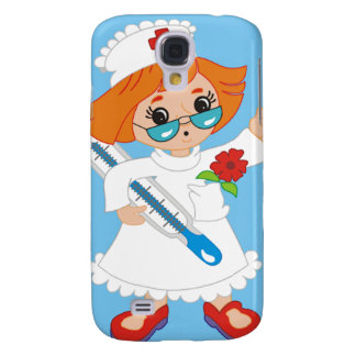 Cartoon Nurse Galaxy S4 Case