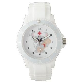 Cartoon Nurse sporty wrist watch