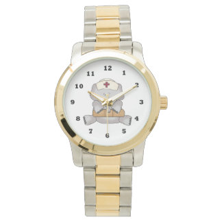 Cartoon Nurse wrist watch