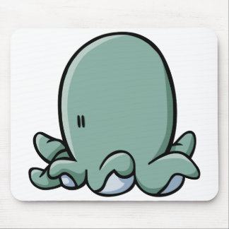 Cartoon Octopus Mouse Pad