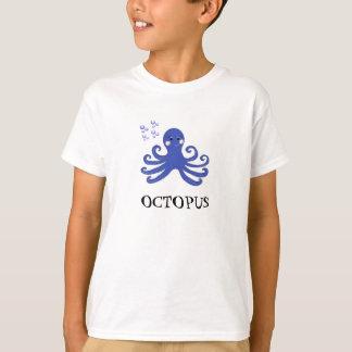 Cartoon Octopus Tshirt