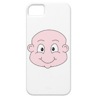 Cartoon of a cute baby, smiling. case for the iPhone 5