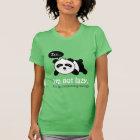 Cartoon of Cute Sleeping Panda T-Shirt