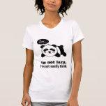 Cartoon of Cute Sleeping Panda T-shirts