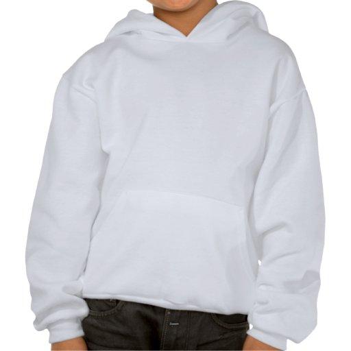 Cartoon of Superhero Hooded Sweatshirt