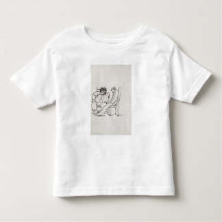 Cartoon of William Morris (1834-96) reading poetry Toddler T-Shirt