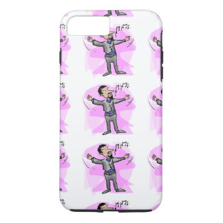 Cartoon opera male singer colorful phone case