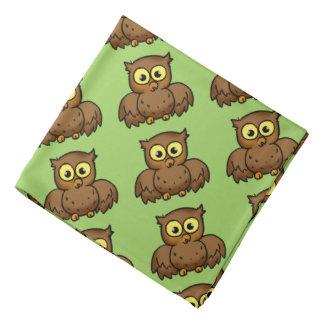 cartoon owl bird kerchiefs