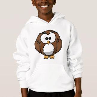 Cartoon Owl Hoodie