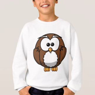 Cartoon Owl Sweatshirt