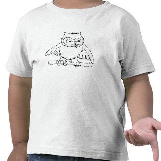 Cartoon Owl T-shirts