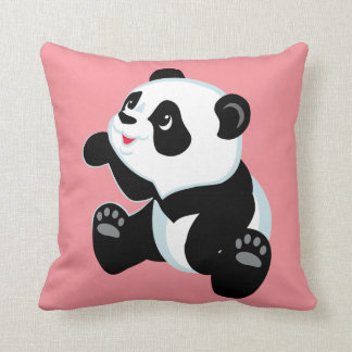 cartoon panda cushion