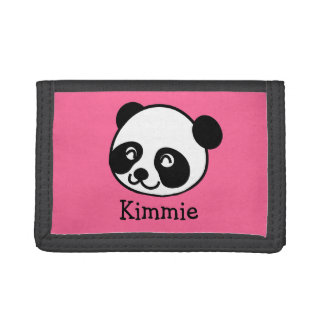 Cartoon Panda Customizable Wallet
