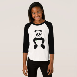 Cartoon Panda T-Shirt