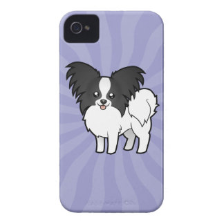 Cartoon Papillon iPhone 4 Case