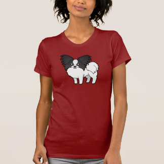 Cartoon Papillon T-Shirt