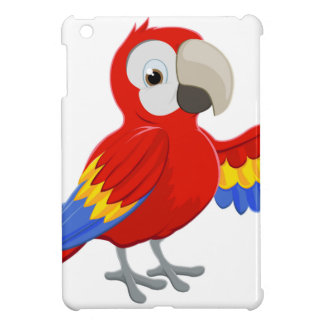 Cartoon Parrot Pointing Cover For The iPad Mini