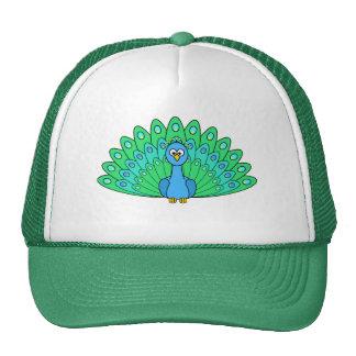 Cartoon Peacock Cap