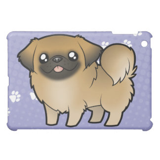 Cartoon Pekeingese (puppy cut) iPad Mini Cover