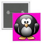 Cartoon Penguin Buttons