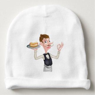 Cartoon Perfect Hotdog Butler Baby Beanie