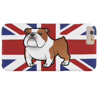 Cartoon Pet with Flag Barely There iPhone 6 Plus Case