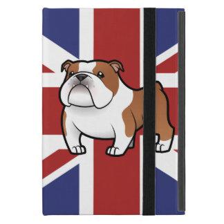 Cartoon Pet with Flag Case For iPad Mini