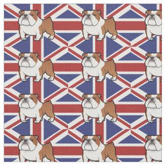 Cartoon Pet with Flag Fabric