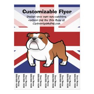 Cartoon Pet with Flag Flyer