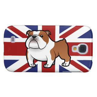 Cartoon Pet with Flag Galaxy S4 Case