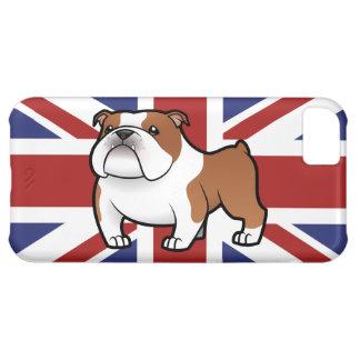 Cartoon Pet with Flag iPhone 5C Case