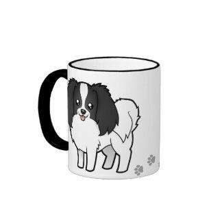 Cartoon Phalene / Japanese Chin Mug